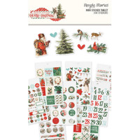 Carpe Diem - Simple Stories - Country Christmas Mini Sticker Tablet
