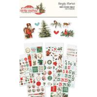 Carpe Diem - Simple Stories - Country Christmas Mini Sticker Tablet