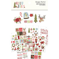 Carpe Diem - Simple Stories - Holly Jolly Mini Sticker Tablet