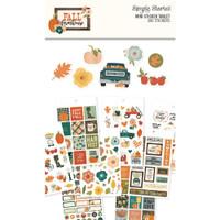 Carpe Diem - Simple Stories - Fall Farmhouse Mini Sticker Tablet