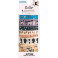 Crate Paper - Maggie Holmes - Heritage - Washi Tape - Set of 8