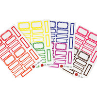 Oh Hello Co - Planner Stickers - Rainbow Functional