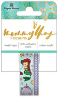 Mommy Lhey Designs - Washi Tape Set - Mermaid