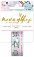 Mommy Lhey Designs - Washi Tape Set - Blossom The Unicorn