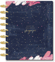 Me and My Big Ideas - 2020 Deluxe Classic Happy Planner - Dreaming Stargazer - 12 Months (Dated, Monthly Layout)