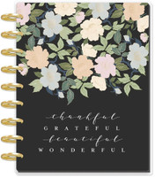 Me and My Big Ideas - 2020 Deluxe Classic Happy Planner - Floral Homebody - 12 Months (Dated, Dashboard Layout)