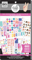 The Happy Planner - Me and My Big Ideas - Value Pack Stickers - Encourager