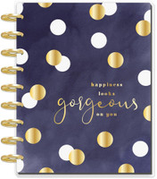 Me and My Big Ideas - 2020 Deluxe Classic Happy Planner - Gorgeous Glam Girl - 12 Months (Dated, Lined Vertical Layout)