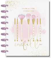 Me and My Big Ideas - 2020 Deluxe Classic Happy Planner - Confetti Glam Girl - 12 Months (Dated, Lined Vertical Layout)