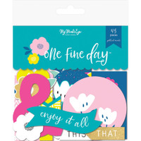 My Minds Eye - One Fine Day Mixed Bag Cardstock Die-Cuts