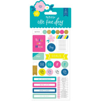 My Minds Eye - One Fine Day - Planner Sticker Set