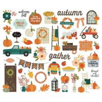 Carpe Diem - Simple Stories - Fall Farmhouse Bits & Pieces Die-Cuts