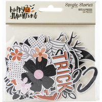 Carpe Diem - Simple Stories - Happy Haunting Bits & Pieces Die-Cuts
