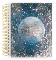 Recollections - Creative Year - 2019-2020 Moon Shaker Medium Planner (Vertical, Dated)