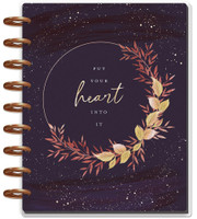 Me and My Big Ideas - 2020 Classic Happy Planner - Live With Heart - 12 Months (Dated, Lined Vertical)