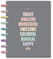 Me and My Big Ideas - 2020 Classic Happy Planner - Pastel Dreams - 12 Months (Dated, Horizontal)
