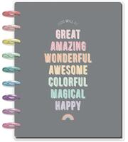 ***OUTDATED*** Me and My Big Ideas - 2020 Classic Happy Planner - Pastel Dreams - 12 Months (Dated, Horizontal)