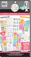 Me and My Big Ideas - The Happy Planner - Value Pack Stickers - Nurse