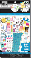 Me and My Big Ideas - The Happy Planner - Value Pack Stickers - Summer