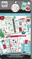 Me and My Big Ideas - The Happy Planner - Value Pack Stickers - Winter