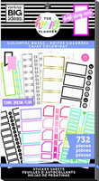 Me and My Big Ideas - The Happy Planner - Value Pack Stickers - Monthly Colorful Boxes