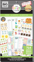 The Happy Planner - Me and My Big Ideas - Value Pack Stickers - Yum (#714)