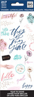 Me and My Big Ideas - The Happy Planner - Sticker Sheets - Year to Shine