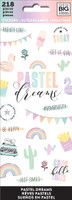 Me and My Big Ideas - The Happy Planner - Sticker Sheets - Pastel Dreams