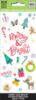 Me and My Big Ideas - The Happy Planner - Sticker Sheets - Merry and Bright