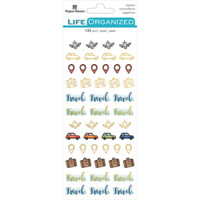 Paper House - Functional Planner Stickers - Travel