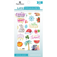 Paper House - Sticker Book - Seasonal