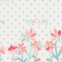 Art Gallery - Paperie - Gathering Blooms Border Stripe #PPE-349