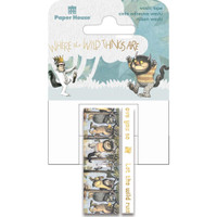 Paper House - Washi Tape - Set of 2 - Where The Wild Things Are