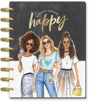 Me and My Big Ideas - 2020 Classic Happy Planner - x Rongrong - Always Choose Happy - 12 Months (Dated, Vertical)