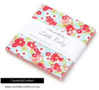 Moda Fabric Precuts Charm Pack - Little Ruby by Bonnie and Camille