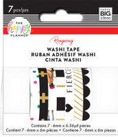 Me and My Big Ideas - The Happy Planner - Washi Tape - Rongrong - Black & White