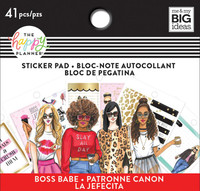 Me and My Big Ideas - The Happy Planner - Tiny Sticker Pad - Rongrong - Boss Babe