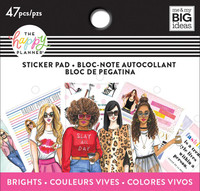 Me and My Big Ideas - The Happy Planner - Tiny Sticker Pad - Rongrong - Brights