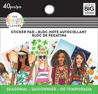 Me and My Big Ideas - The Happy Planner - Tiny Sticker Pad - Rongrong - Seasonal