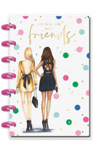The Happy Planner - Me and My Big Ideas - Mini Happy Notes x Rongrong - Friends (Dotted Line)
