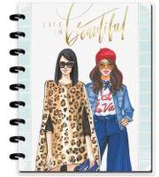 The Happy Planner - Me and My Big Ideas - Classic Happy Notes x Rongrong - Life Is Beautiful (Sketch - Blank)