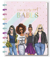 The Happy Planner - Me and My Big Ideas - BIG Happy Notes x Rongrong - Babes Support Babes (Lined)