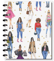 The Happy Planner - Me and My Big Ideas - BIG Happy Notes x Rongrong - Slay All Day (Dot Grid)