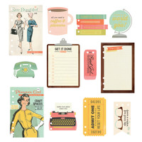 Carpe Diem - The Reset Girl - A5 Inserts - Dashboard with Foil Accents