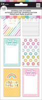 The Happy Planner - Me and My Big Ideas - Journaling (Flip) Stickers - Planner Babe