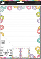 The Happy Planner - Me and My Big Ideas - Classic Refill Note Paper - Full Sheet - Planner Babe (Dotted Line)
