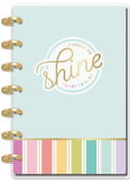Me and My Big Ideas - 2020 Deluxe Mini Happy Planner - Planner Babe - Shine - 12 Months (Dated, Vertical)