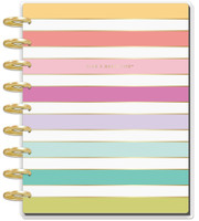 Me and My Big Ideas - 2020 Deluxe Classic Happy Planner - Planner Babe - 12 Months - Stripe (Dated, Vertical)