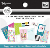 Me and My Big Ideas - The Happy Planner - Tiny Stickers Pad - Happy Hostess