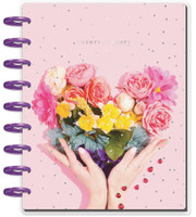 Me and My Big Ideas - 2020 Classic Happy Planner - Rainbow Floral - 12 Months (Dated, Hourly) (Exclusive)